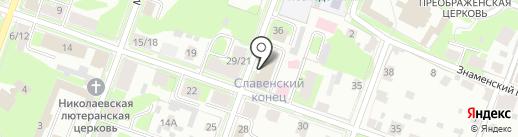 ПроСофт-ВН на карте Великого Новгорода