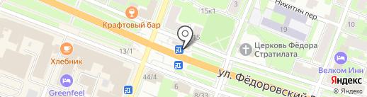 Дом Быта на карте Великого Новгорода