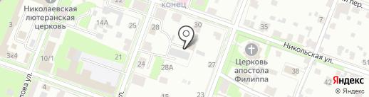 Эксплуатационно-технический отдел №1 на карте Великого Новгорода