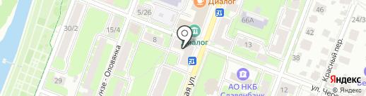 Шарм на карте Великого Новгорода