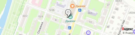 Союз русских ганзейских городов на карте Великого Новгорода