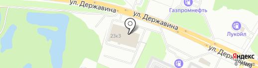 Ильмера на карте Великого Новгорода