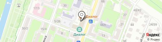 Региональная общественная приемная председателя партии Единая Россия Д.А. Медведева на карте Великого Новгорода