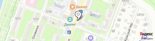 ТМК на карте Великого Новгорода