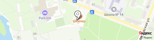 Радио Мир на карте Великого Новгорода