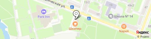М-Групп на карте Великого Новгорода
