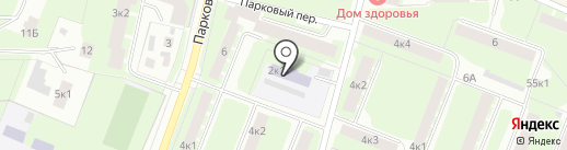 Детский сад №11 на карте Великого Новгорода