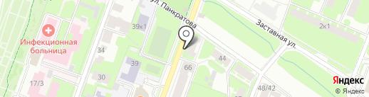СТОМАТОЛОГ и Я на карте Великого Новгорода