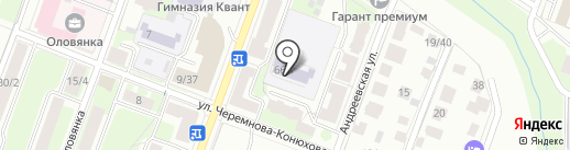 Детский сад №18 на карте Великого Новгорода