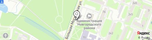 BasicDecor на карте Великого Новгорода