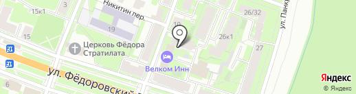 Служба заказа спецавтотехники на карте Великого Новгорода