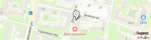 Аптека для бережливых на карте Великого Новгорода