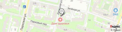 4АВТО на карте Великого Новгорода