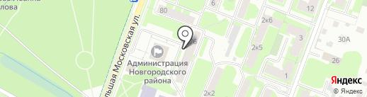 Идеальная ванная на карте Великого Новгорода