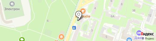 Коммунальный сервис на карте Великого Новгорода