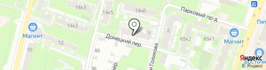 Дизайн-студия Аллы Андреевой на карте Великого Новгорода