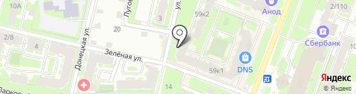 Вымпел, ТСЖ на карте Великого Новгорода