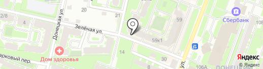 Modista на карте Великого Новгорода