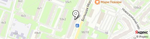Во!Ва! на карте Великого Новгорода