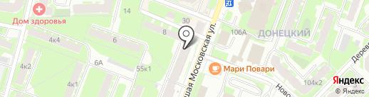 Бюро Безупречного Бизнеса, НП на карте Великого Новгорода