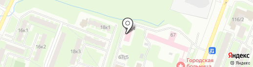 Новгородский областной кожно-венерологический диспансер на карте Великого Новгорода