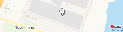 Трубичино на карте Трубичино