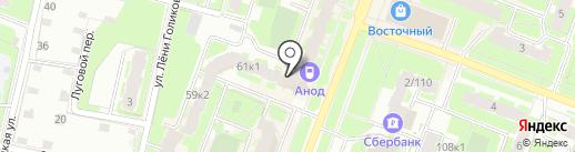 Арт маркет на карте Великого Новгорода