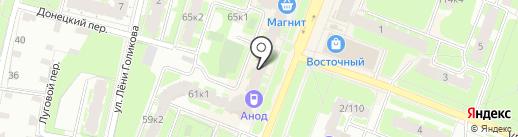 Юлмарт на карте Великого Новгорода