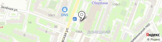 Новгородское Областное Телевидение на карте Великого Новгорода