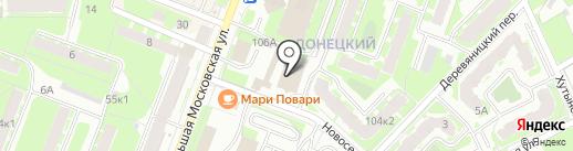 JunGle на карте Великого Новгорода