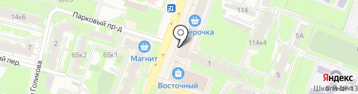 Суши шоп на карте Великого Новгорода