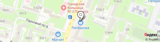 филин на карте Великого Новгорода
