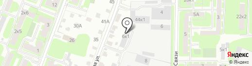GarageMaster на карте Великого Новгорода