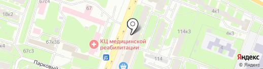 Цветочный салон на карте Великого Новгорода