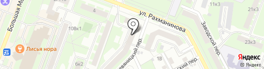 КитАвто на карте Великого Новгорода