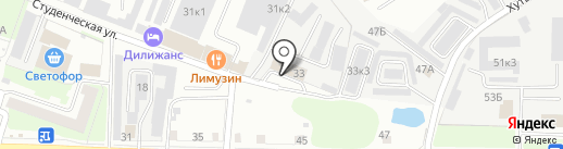 ТЕХНОЦЕНТР на карте Великого Новгорода