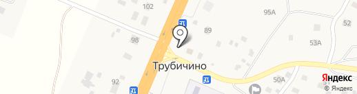 Тройка на карте Трубичино