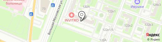 Для тебя на карте Великого Новгорода