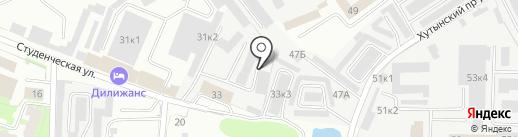 АвтоТехЦентр на карте Великого Новгорода