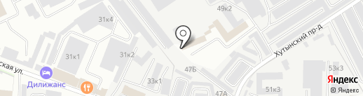 Автомарка на карте Великого Новгорода