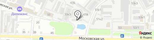 Автостекло на карте Великого Новгорода