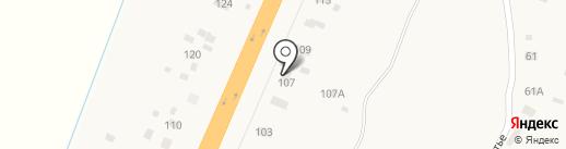 Киоск по продаже пончиков на карте Трубичино