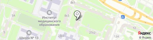 СЛАВЯНОЧКА на карте Великого Новгорода