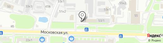 333333 на карте Великого Новгорода