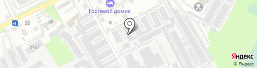 ТОНИРОФКИН на карте Великого Новгорода