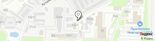 Сервисный центр на карте Великого Новгорода