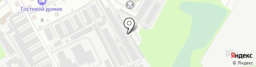 Автостиль на карте Великого Новгорода