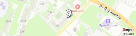 РЕНОМАГ на карте Великого Новгорода