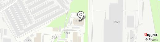 Автоклиника на карте Великого Новгорода
