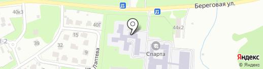 Детская школа искусств на карте Великого Новгорода